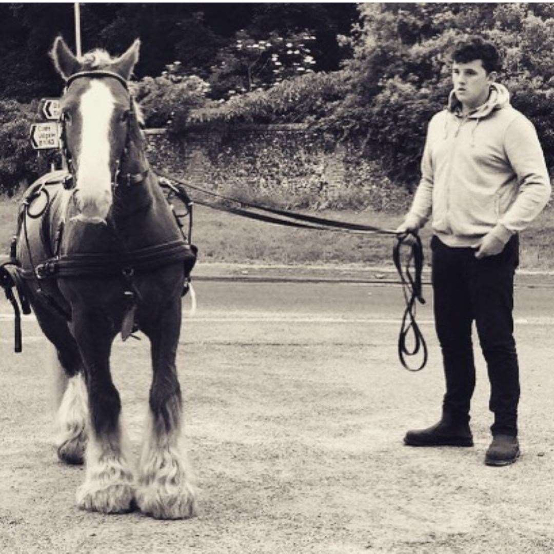 Harry Fussey, who loved nothing more than driving his horse and trap