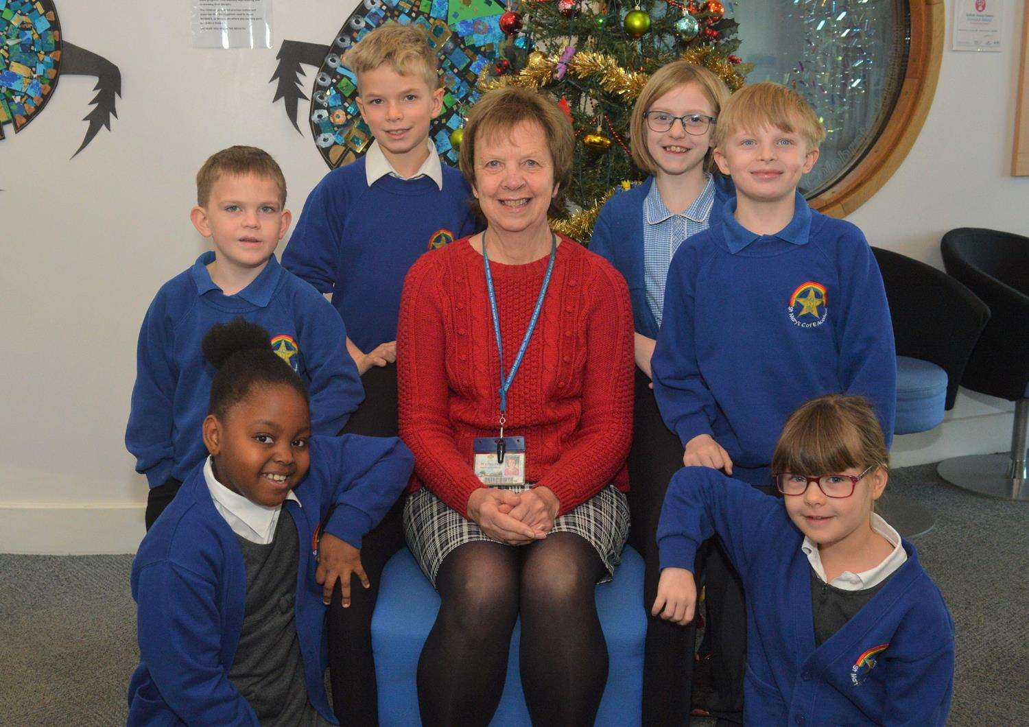 Teresa Peachey is retiring from St Mary's Primary School in Mildenhall.