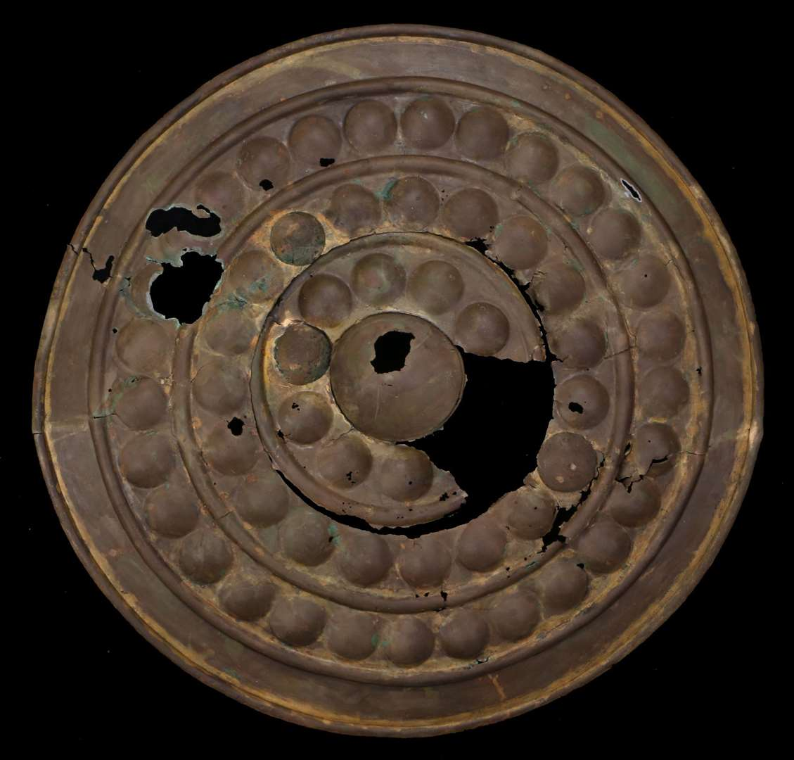 The auction includes items such as the 'Lakenheath Shield'. (15553258)