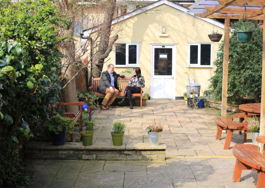 Courtyard at Focus12 in Bury St Edmunds