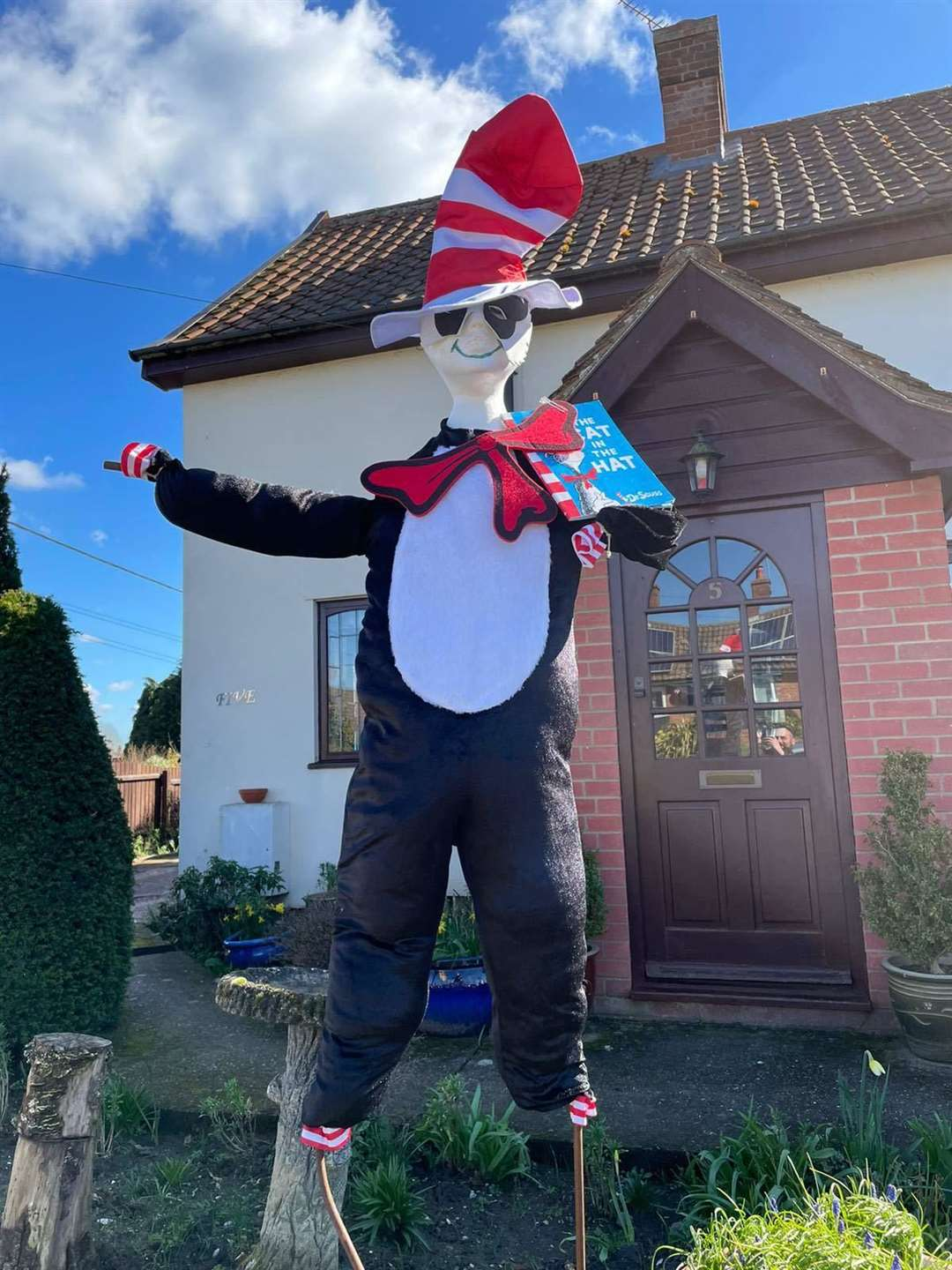 It's the Cat in the Hat, there's no doubt about that. Picture: Stowmarket Library Facebook