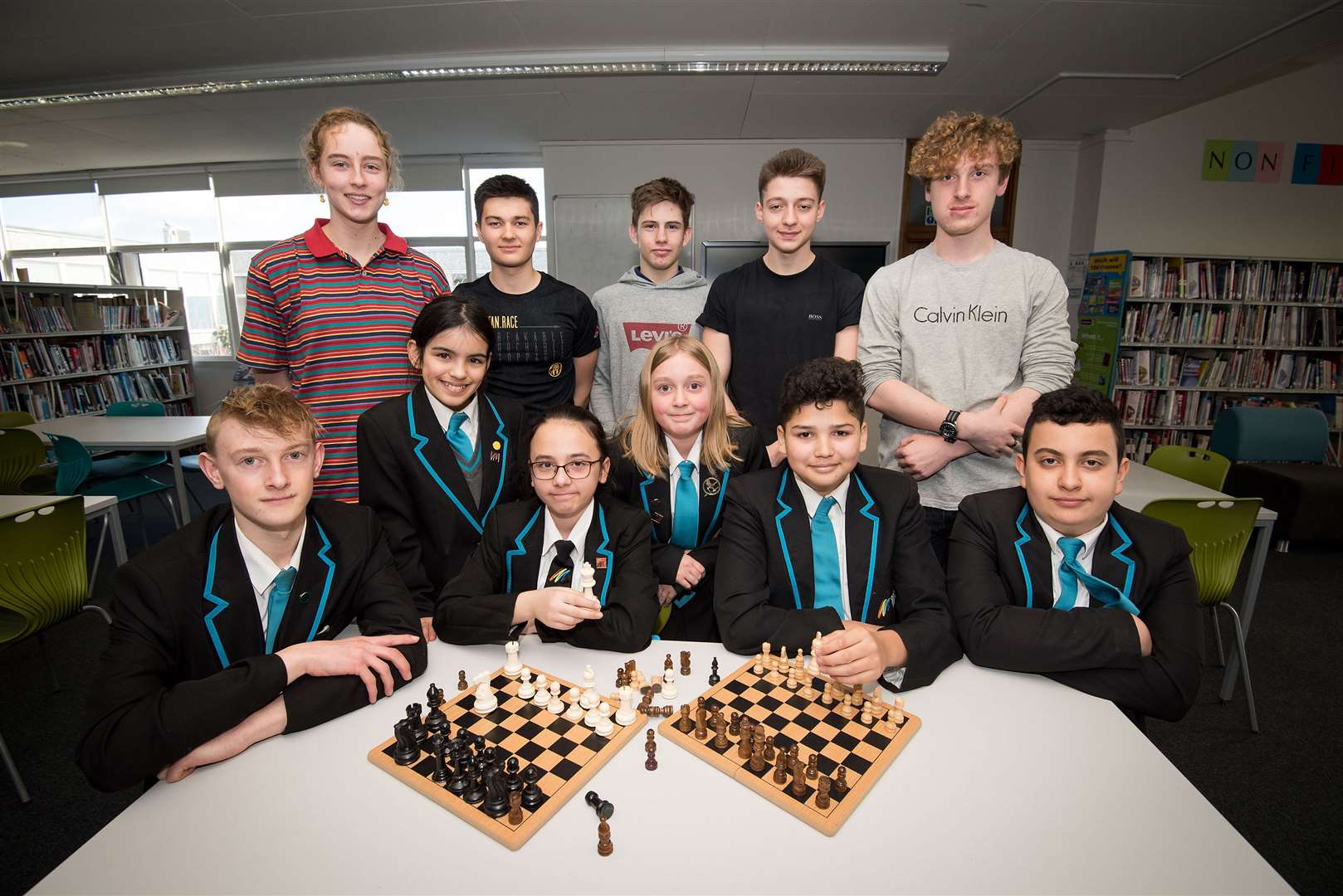 Ormiston Sudbury Academy, Tudor Rd, Sudbury.Pupils at Ormiston Sudbury Academy, in Sudbury, who took part in the first Ormiston Academy Trust (OAT) inter-school chess tournament. Picture Mark Westley. (7660427)