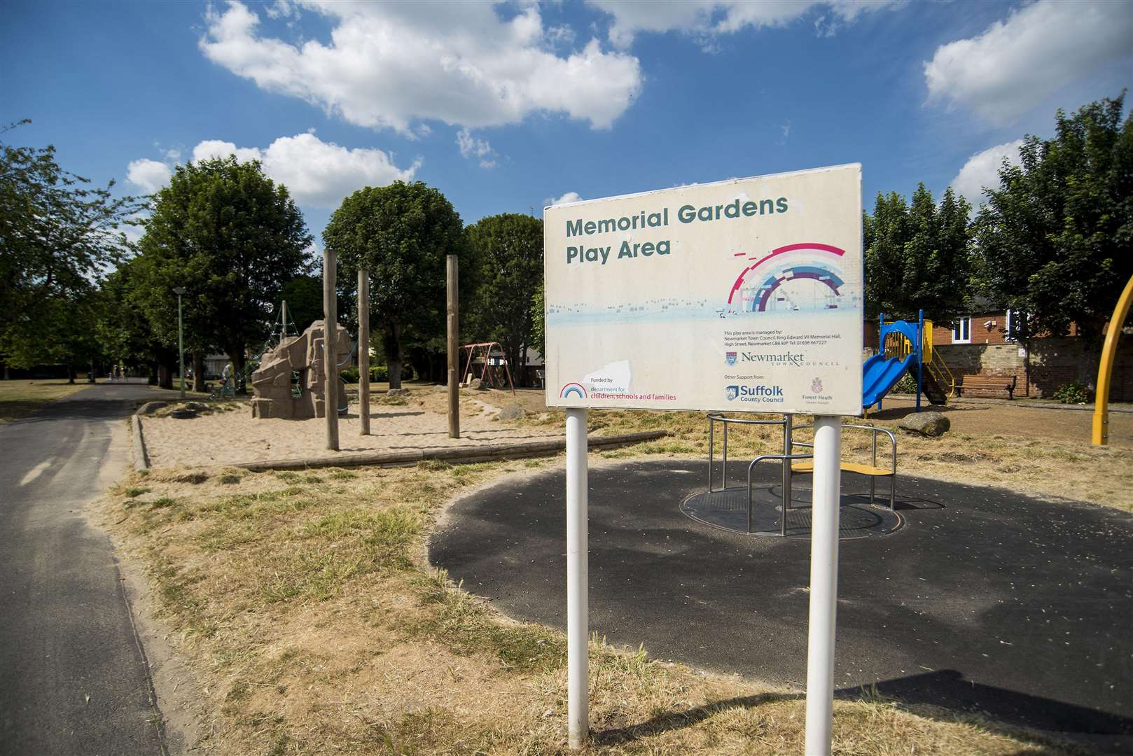 "Cllr Amy Starkey said she was excited by what she called an ""amazing project"" to revamp the gardens play area (3887524)"