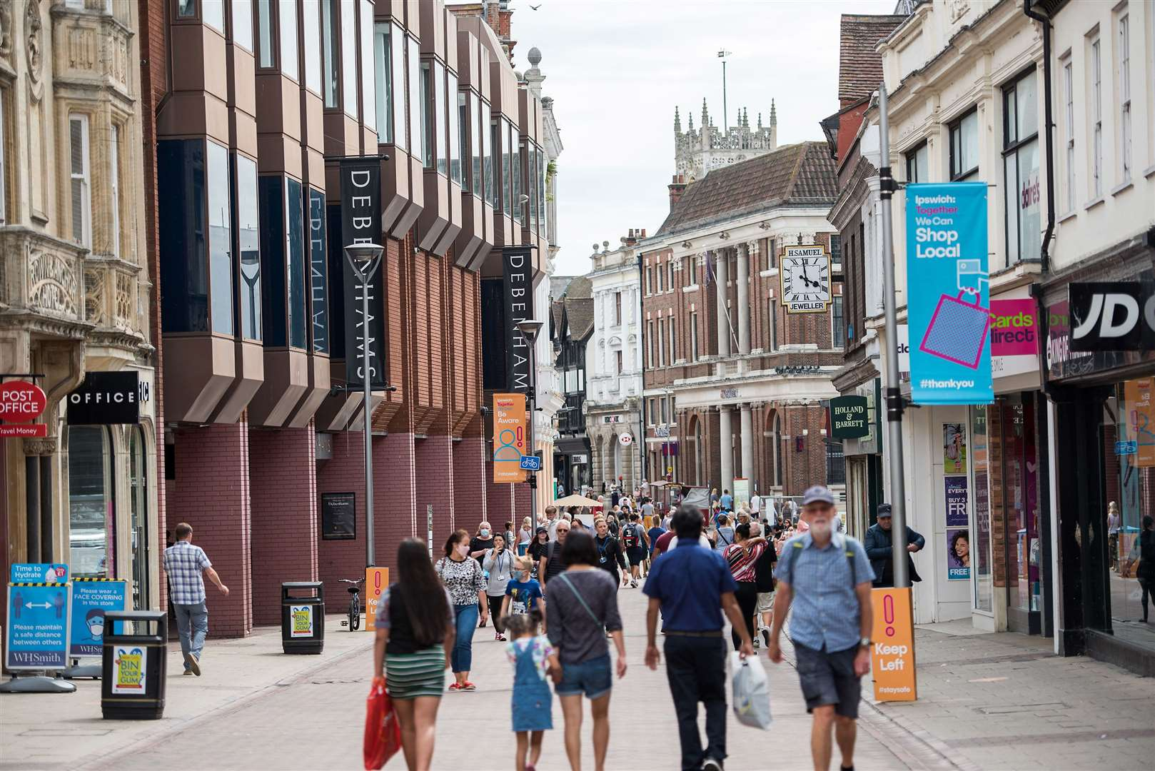 Ipswich's Westgate Street pictured in July 2020. Picture by Mark Westley