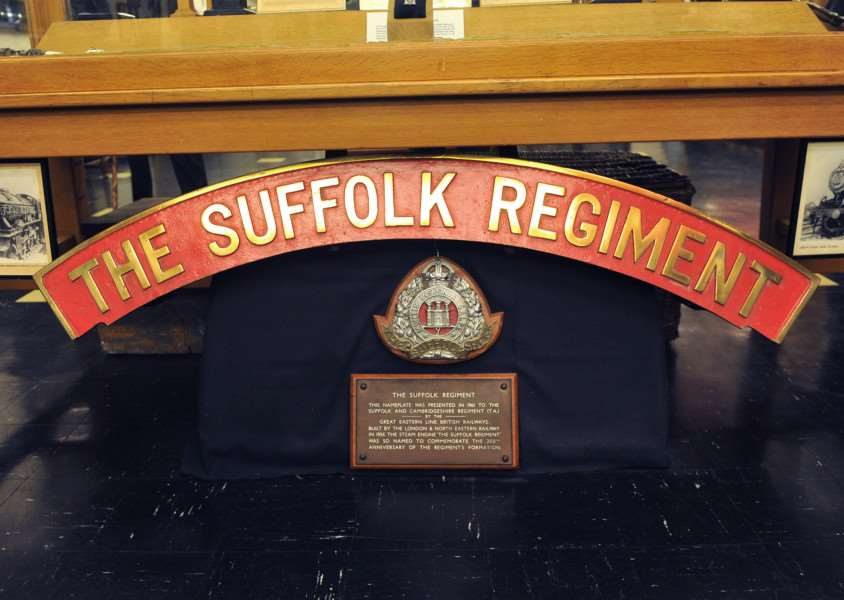 FEATURE - Suffolk Regiment Museum ANL-150913-205322009