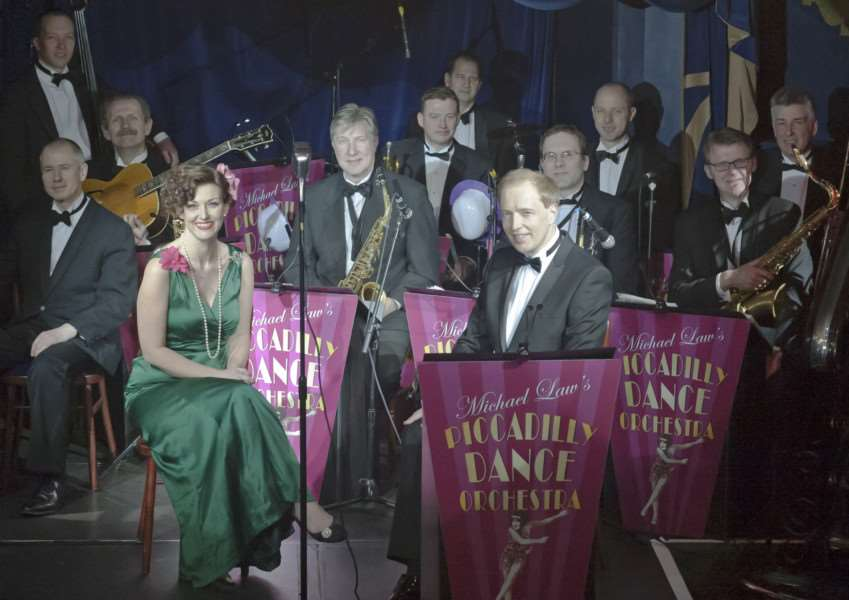 The Piccadilly Dance Orchestra are coming to the Apex in Bury St Edmunds. ANL-150826-122611001