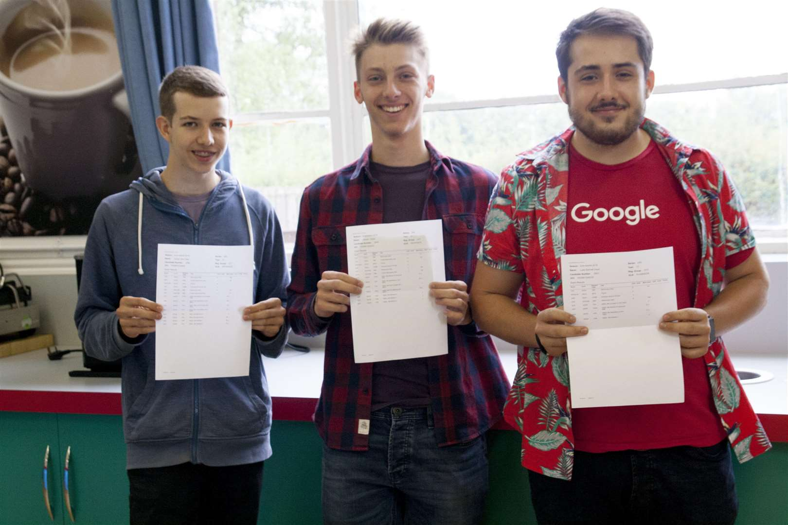 Mildenhall College Academy students Daniel Gee, Connor Carter and Luke Lloyd (3638388)