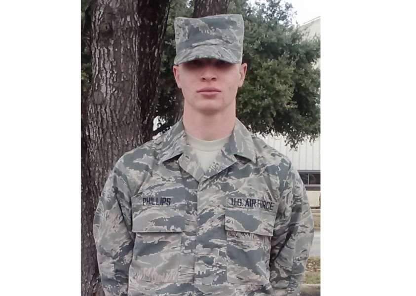 Airman 1st Class Darren Phillips, assigned to the 48th Equipment Maintenance Squadron at RAF Lakenheath, died from injuries sustained in a motorcycle accident on the A1101 in Barton Mills on October 2, 2015. ANL-161010-163542001