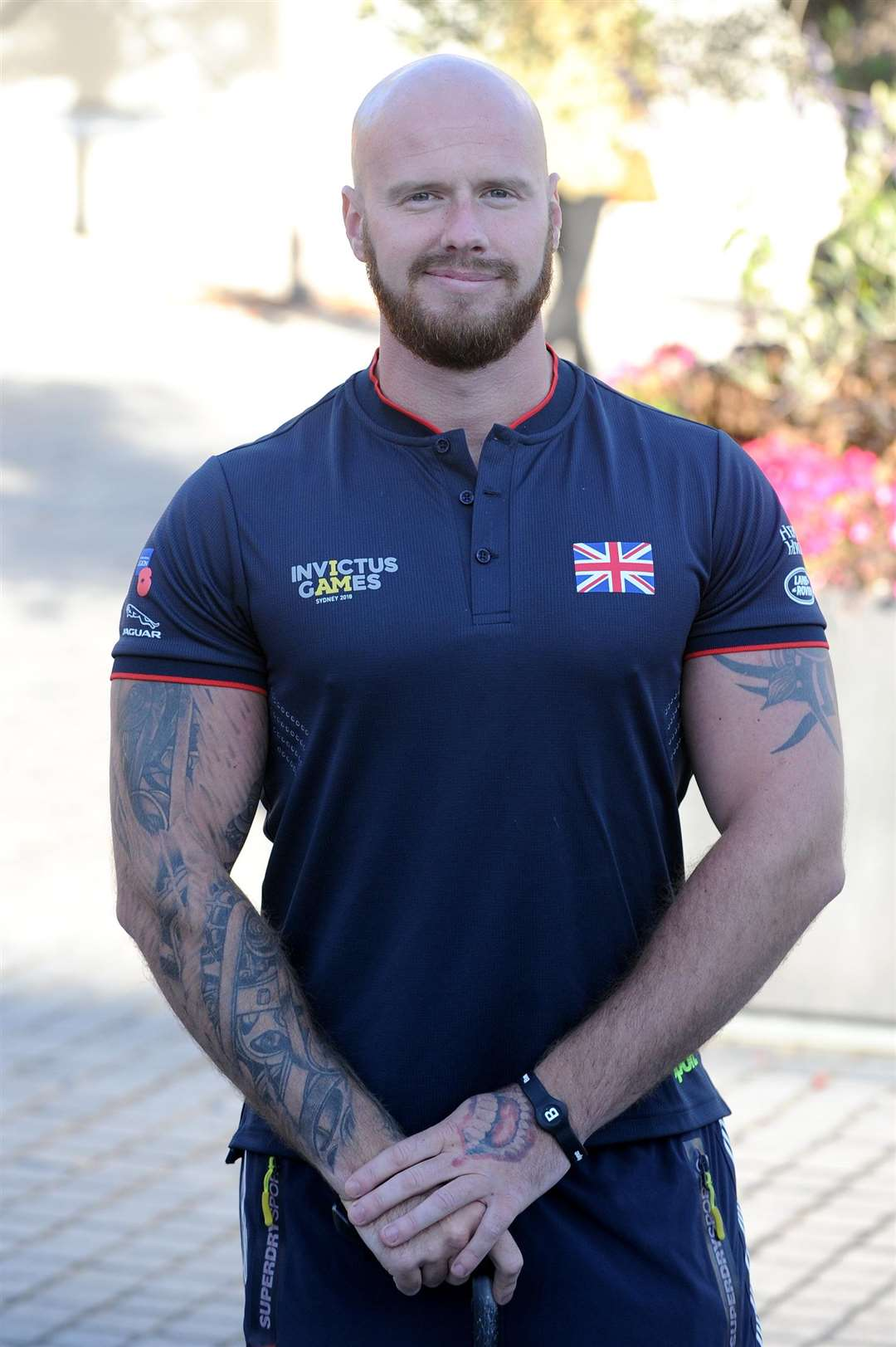 Alex and Matt Tate are fresh off the plane from their Invictus Games appearance in Sydney last week. Alex won a gold (long jump) as well as silver and a bronze (100m) medal, while Matt produced a competition PB (Midweight Powerlifter)...Pictured: Matt...PICTURE: Mecha Morton... .. (5144787)