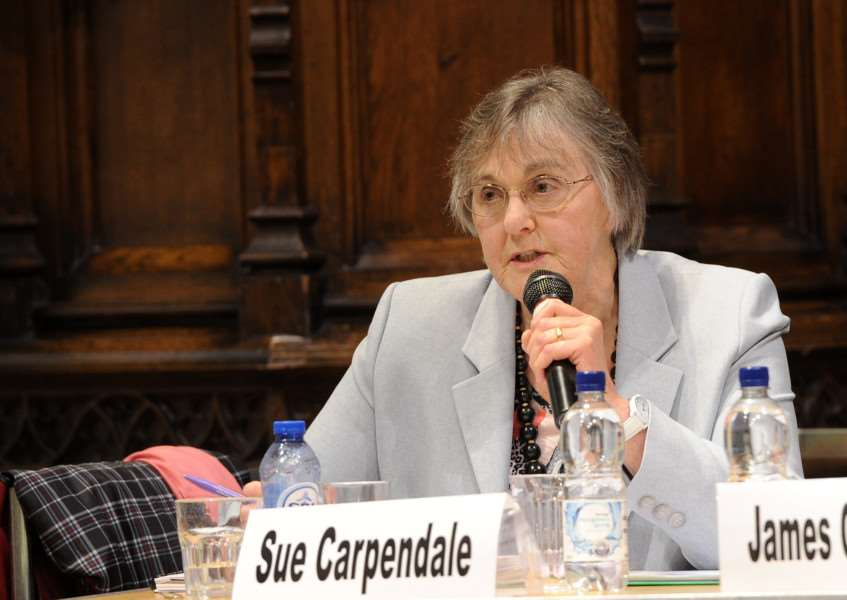 Suffolk Free Press EU referendum debate''Pictured: Sue Carpendale ANL-160606-092956009