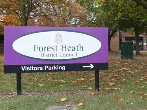 Forest Heath District Council was expecting higher interest rates