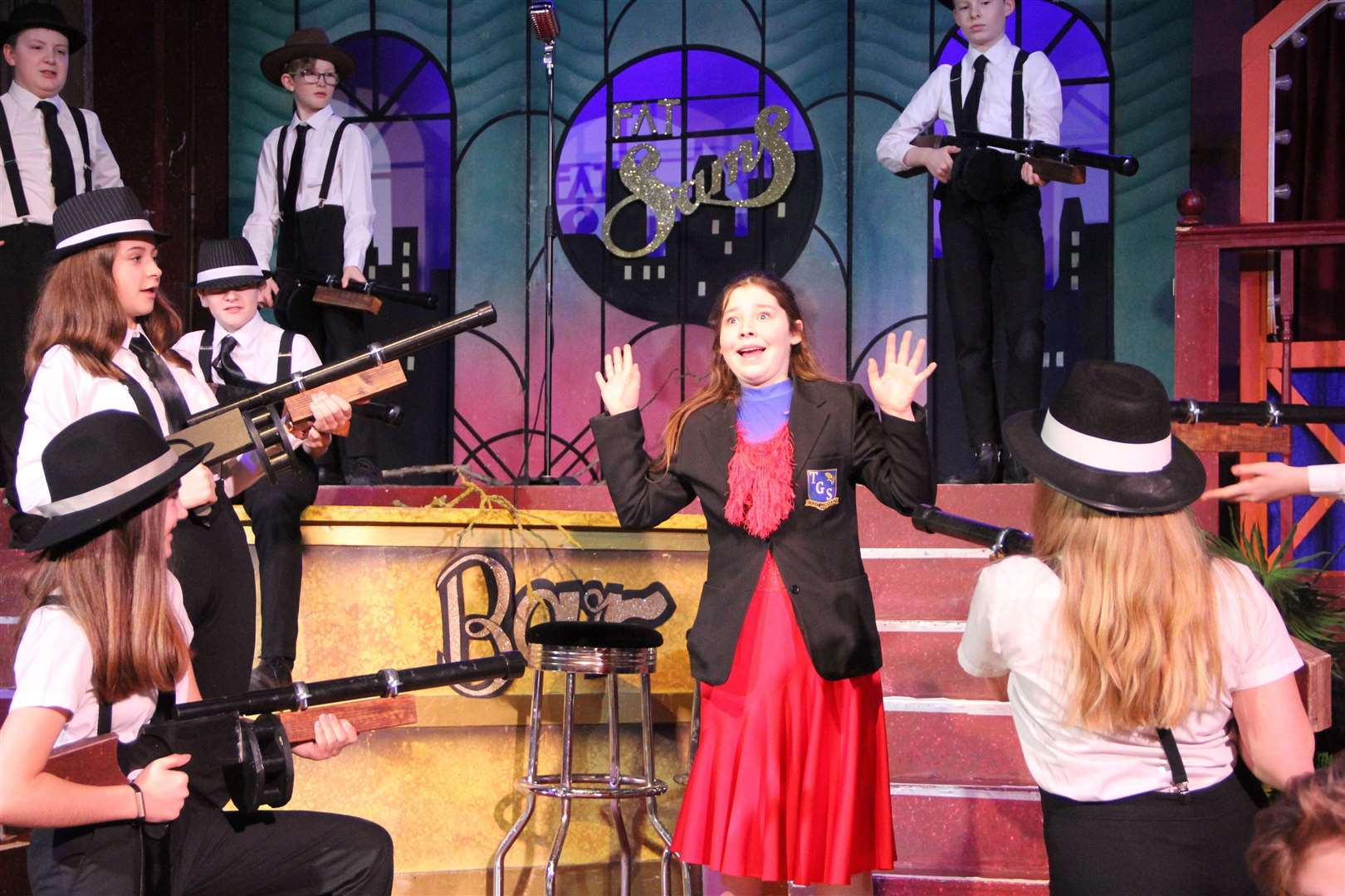 Bugsy Malone production at Thomas Gainsborough. (31247962)