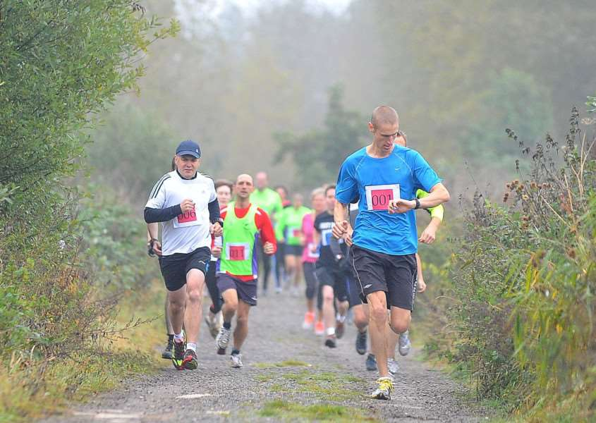 Sponsored run and walk for the RSPB through Lakenheath Fen Reserve. ENGANL00120121020122418