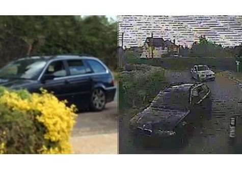 Police have released CCTV of a BMW estate car they wish to trace following a burglary in West Row ANL-150406-124846001