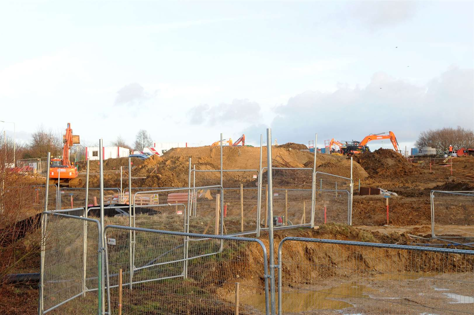 Site in Stowmarket where McDonalds will be ....PICTURE: Mecha Morton. (14840608)