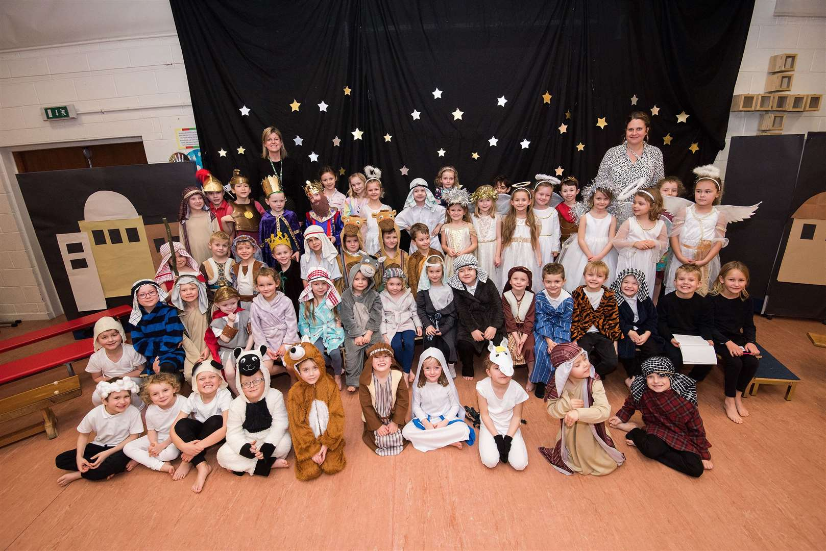 Christmas performance at Barrow CEVC Primary School. Picture by Mark Westley.