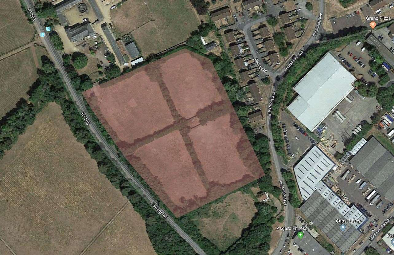 Potential development site for Brickfield Stud (16377382)