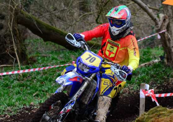 TOP FORM. Alex Rampton, 16, won the Clubman Class at Butley