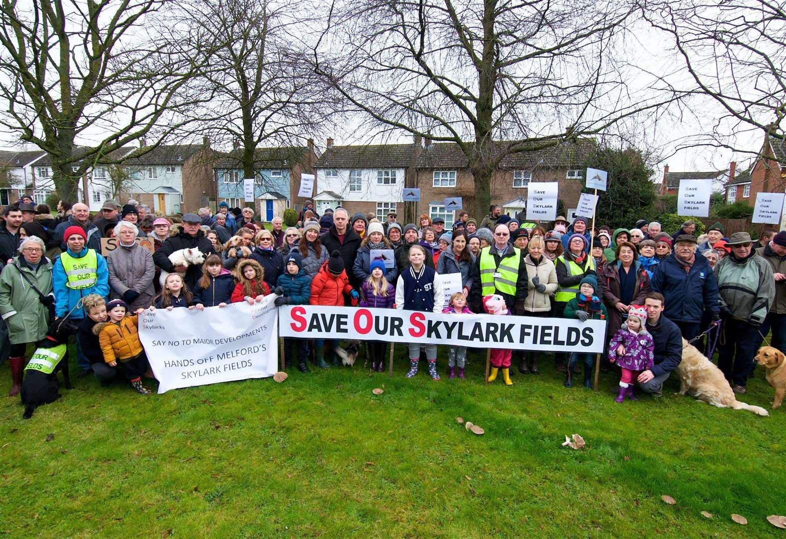Long Melford community rallies for long-term battle against 150-home plan