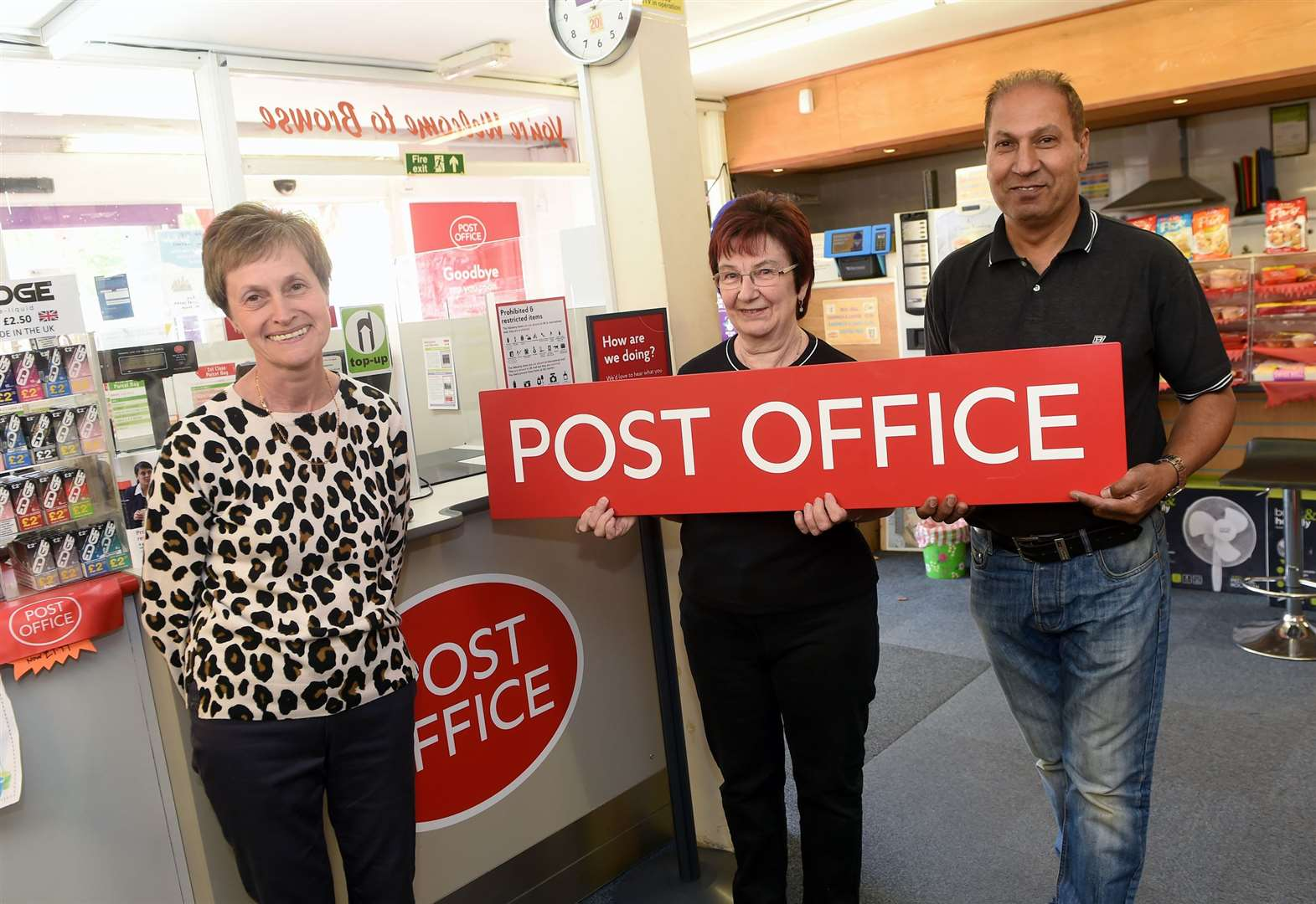Delight as Glemsford post office service reinstated after one-year absence
