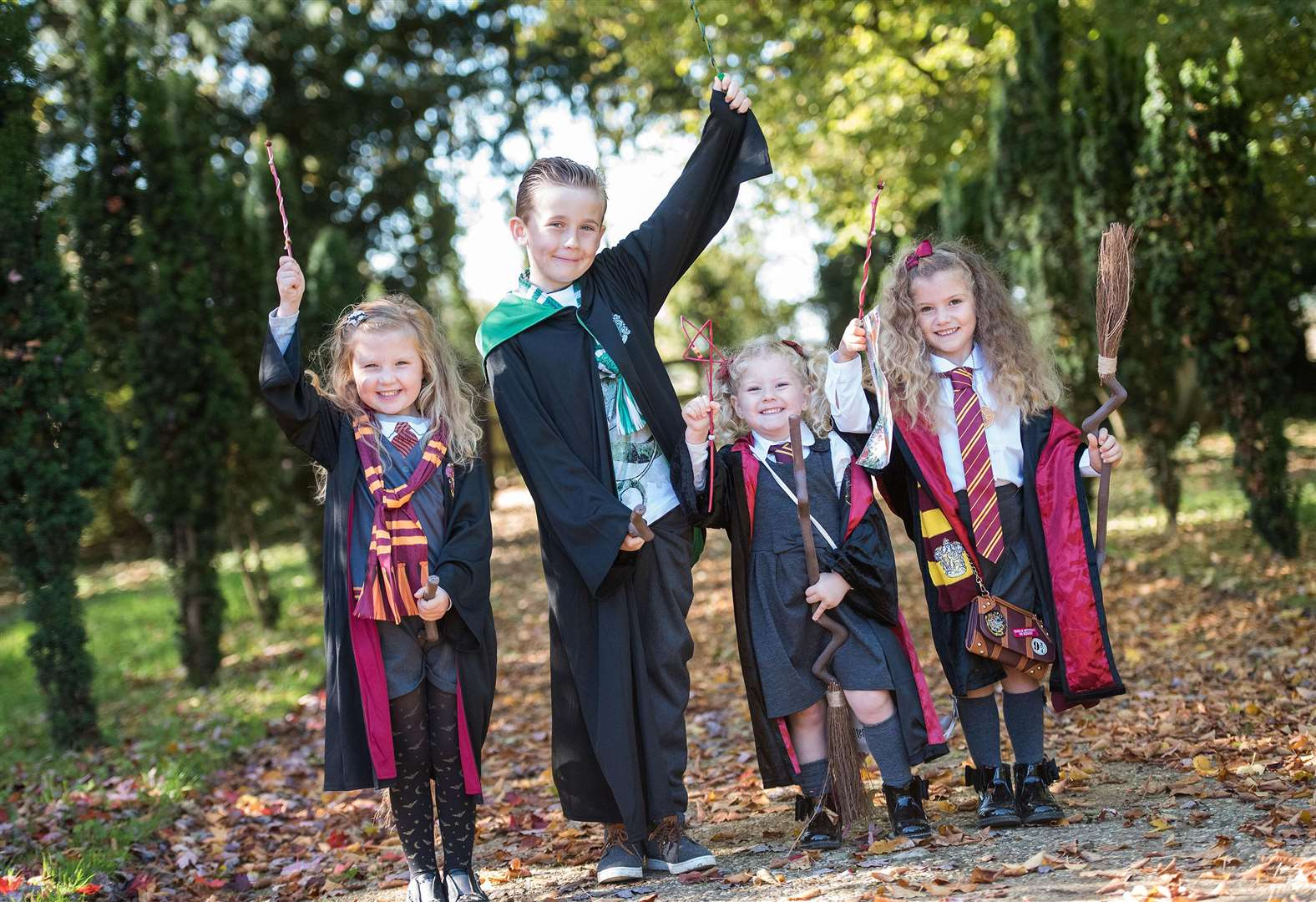 PICTURES: Kentwell Hall School of Sorcery adds magic touch to half-term