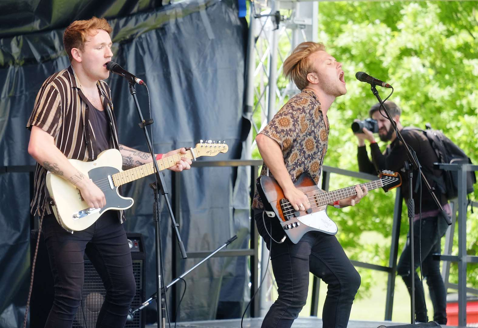 PICTURES: Thousands flock to Long Melford for LeeStock music festival