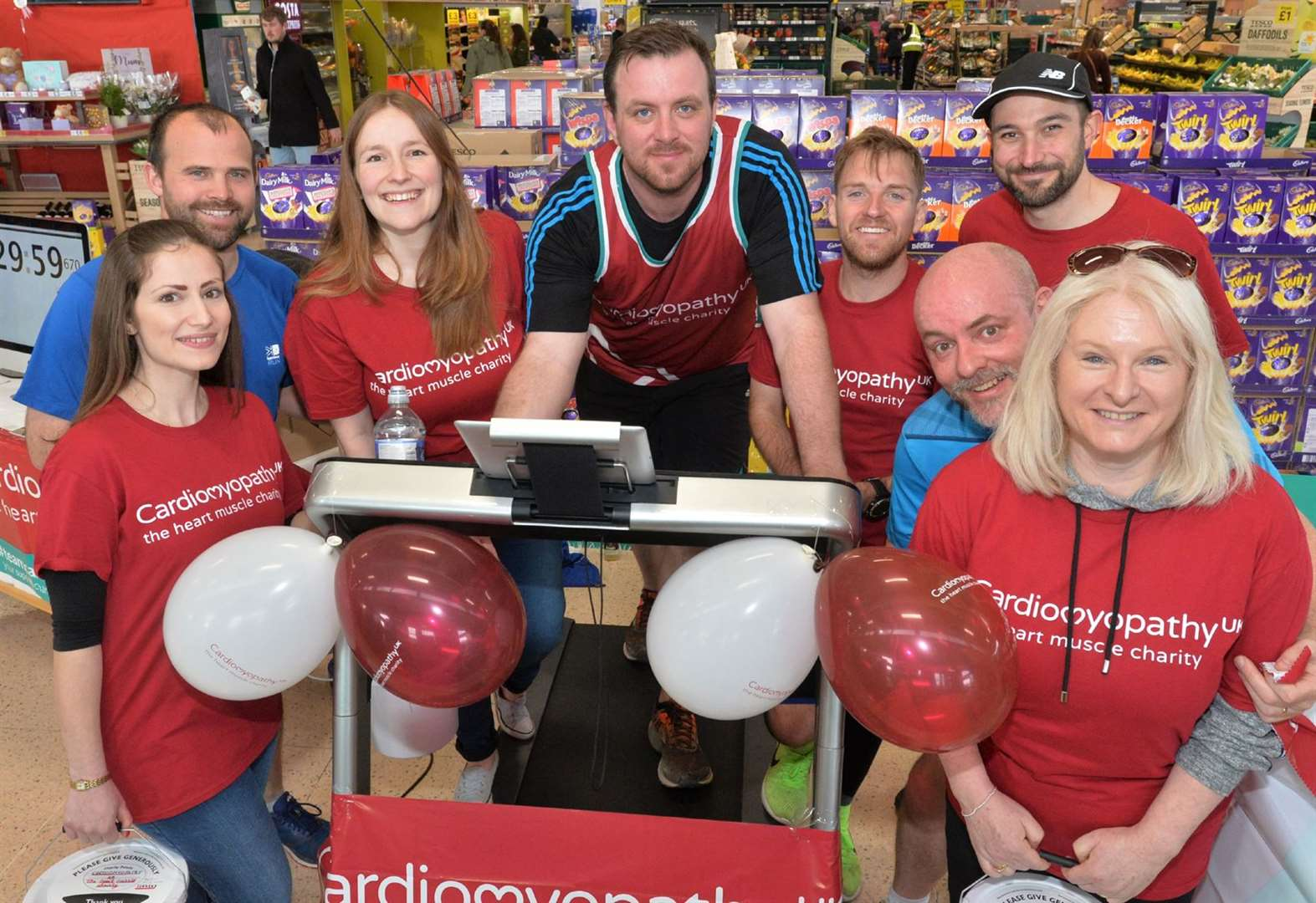 Richard tops target for Marathon fund-raising