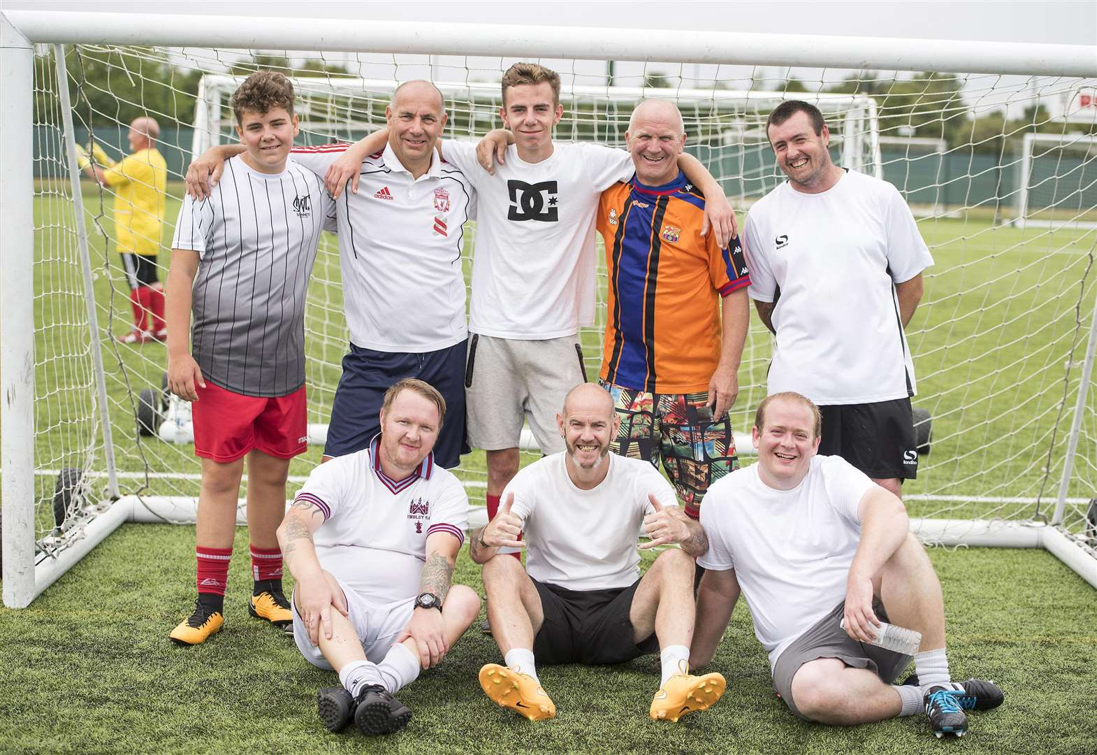 Haverhill charity walking football tournament makes a successful debut