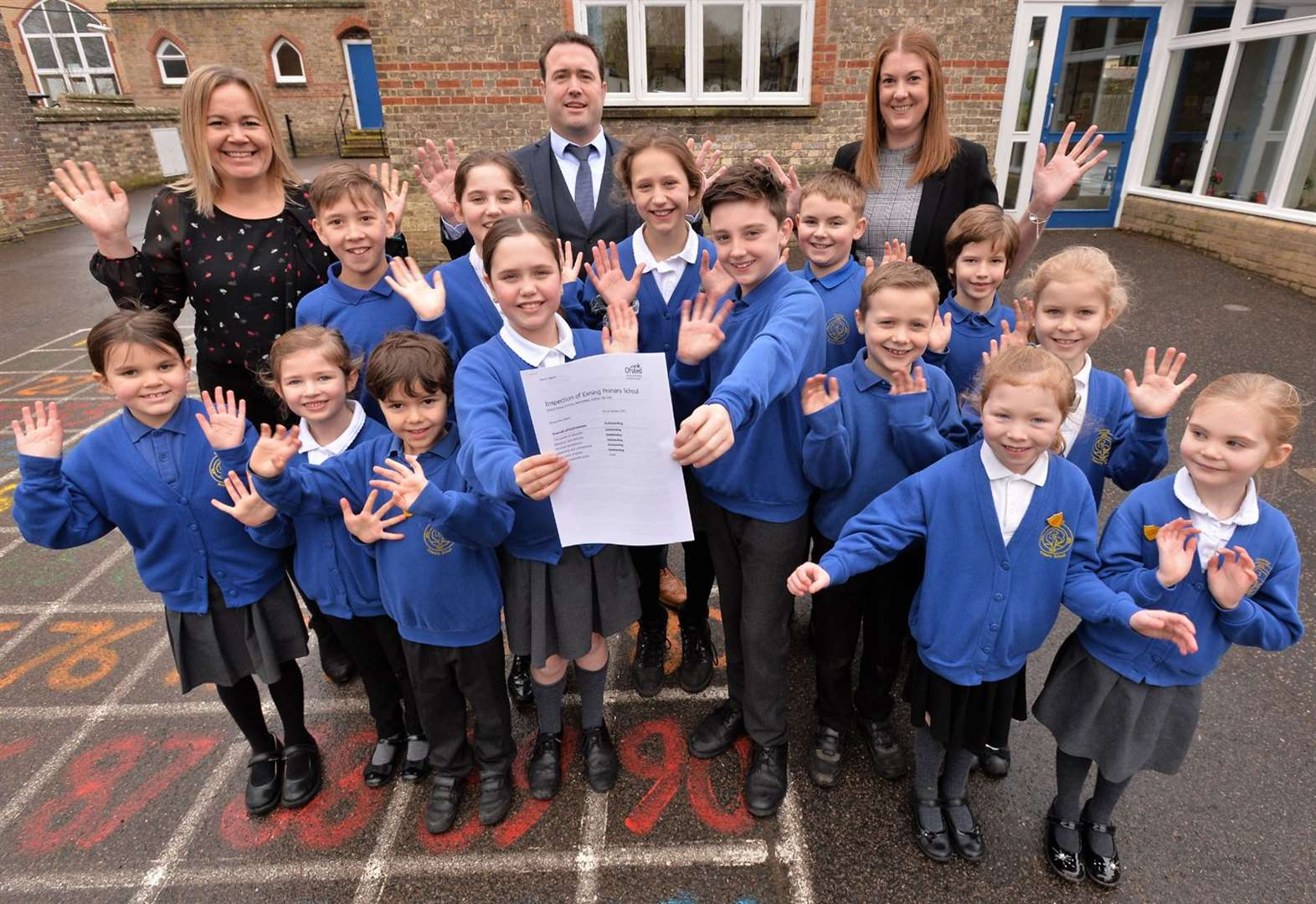 'Outstanding' village school goes to the top of the class