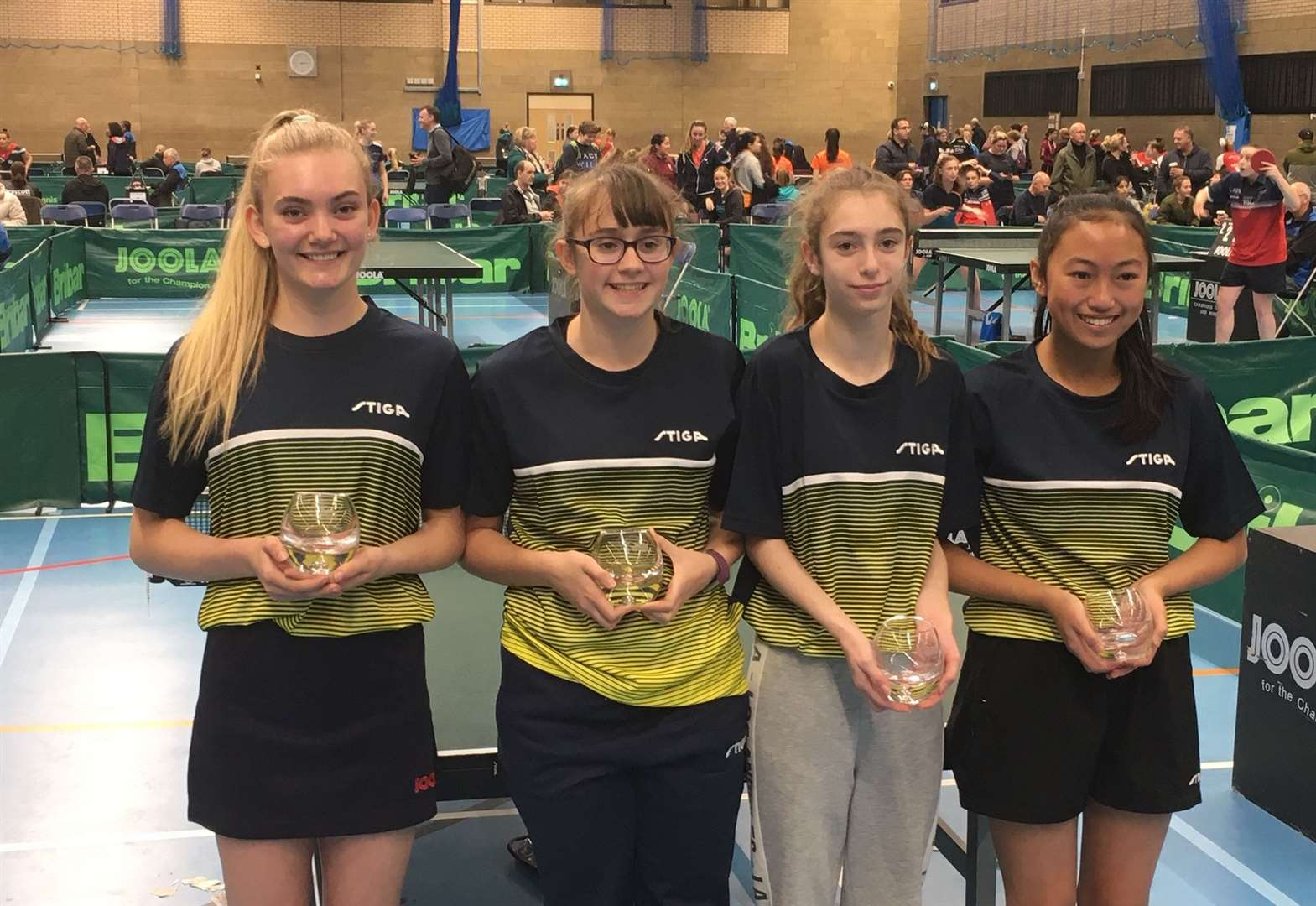Impressive National League debuts for table tennis starlet