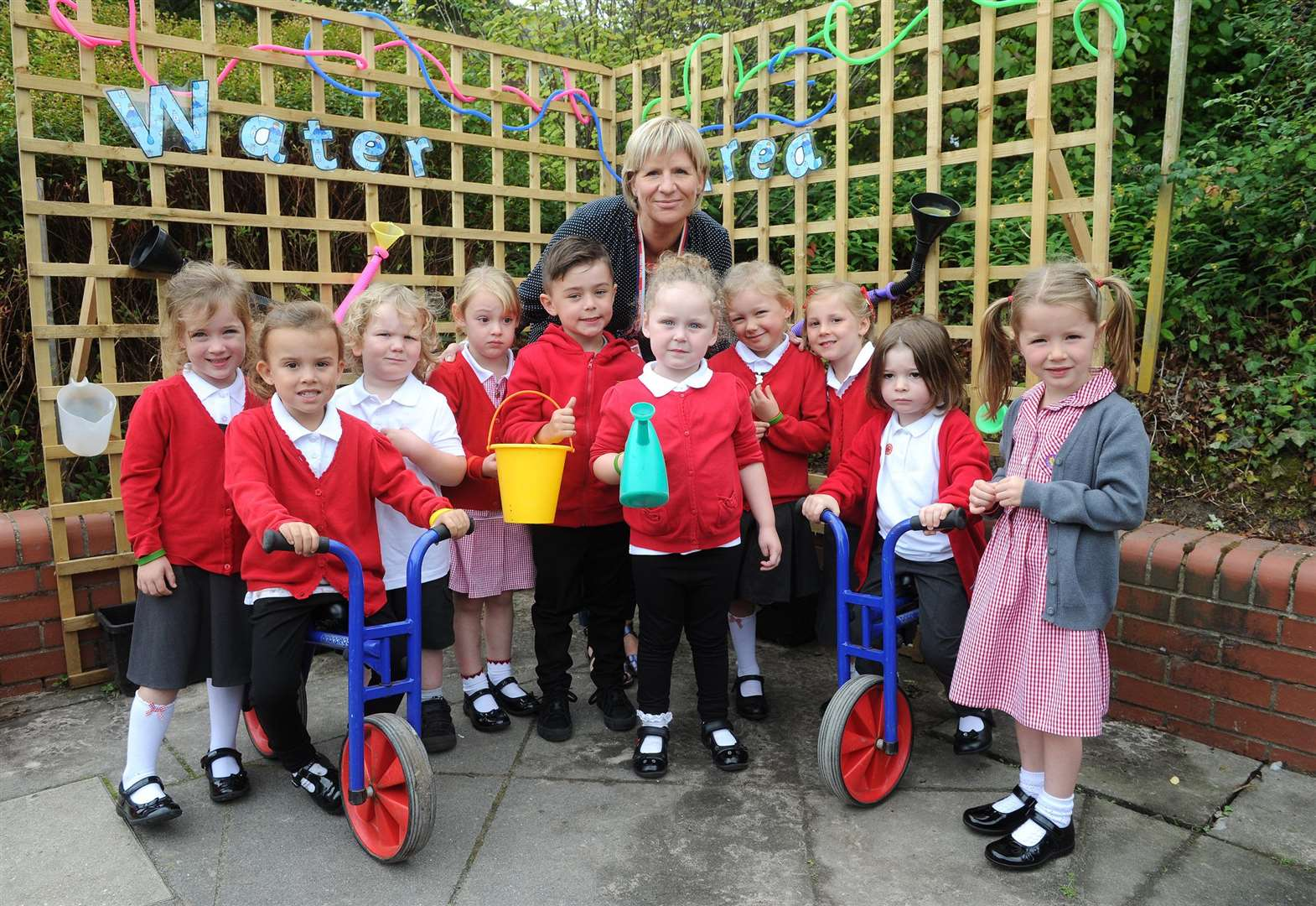 Interactive sheds aid youngsters' learning in Long Melford
