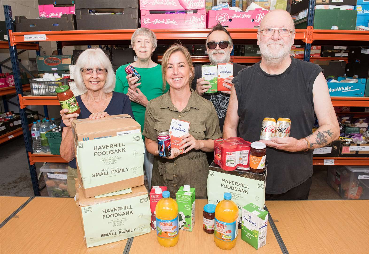 Haverhill Foodbank appealing for donations after spike in users