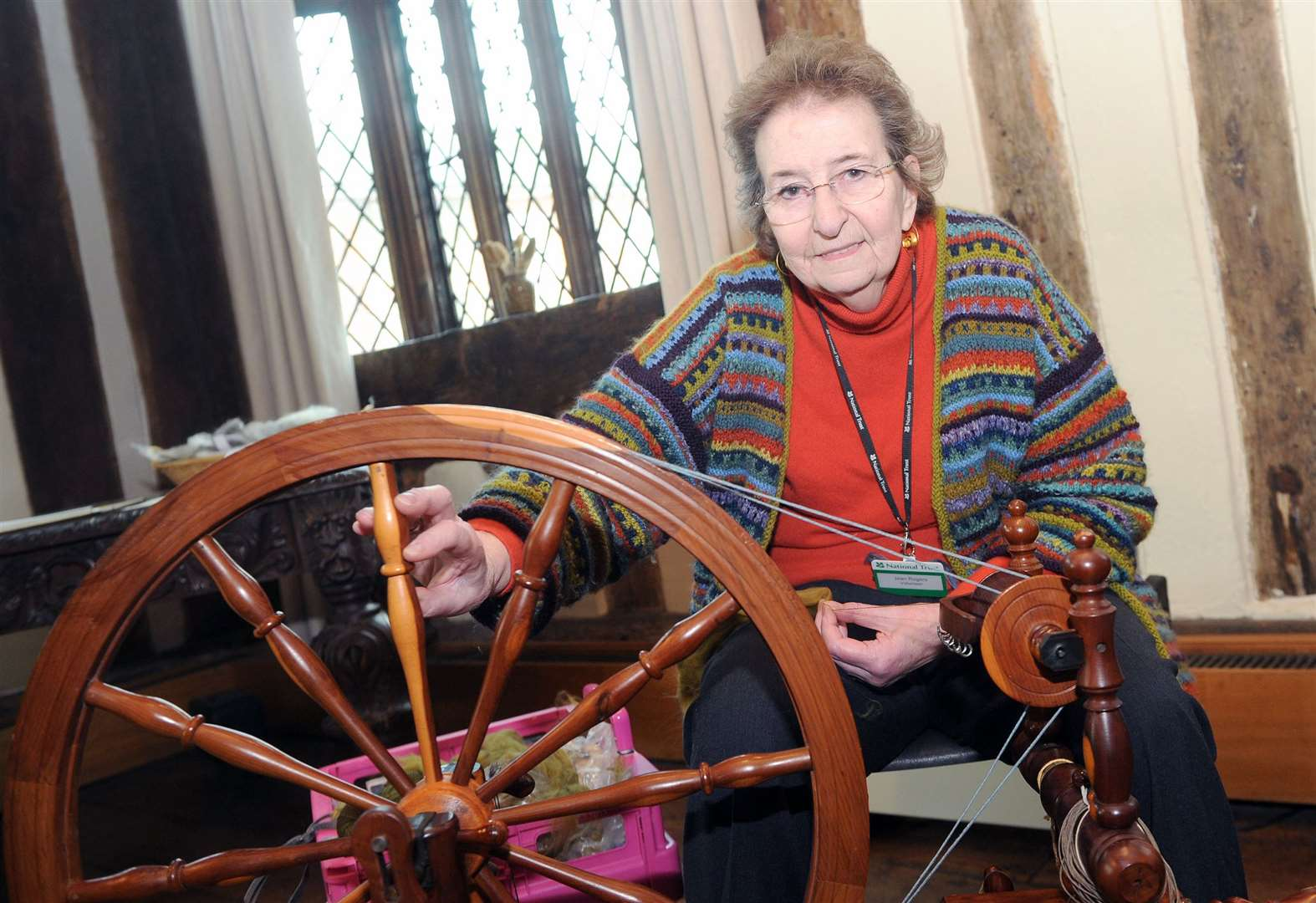 Lavenham Guildhall pays homage to wool trade heritage
