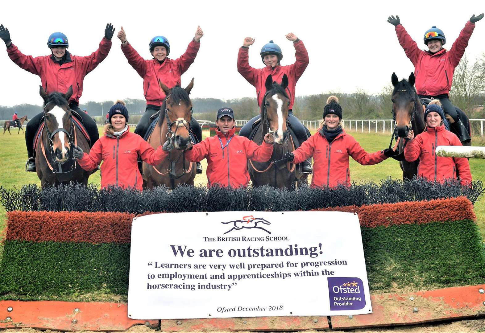 Town's racing school is an Ofsted favourite