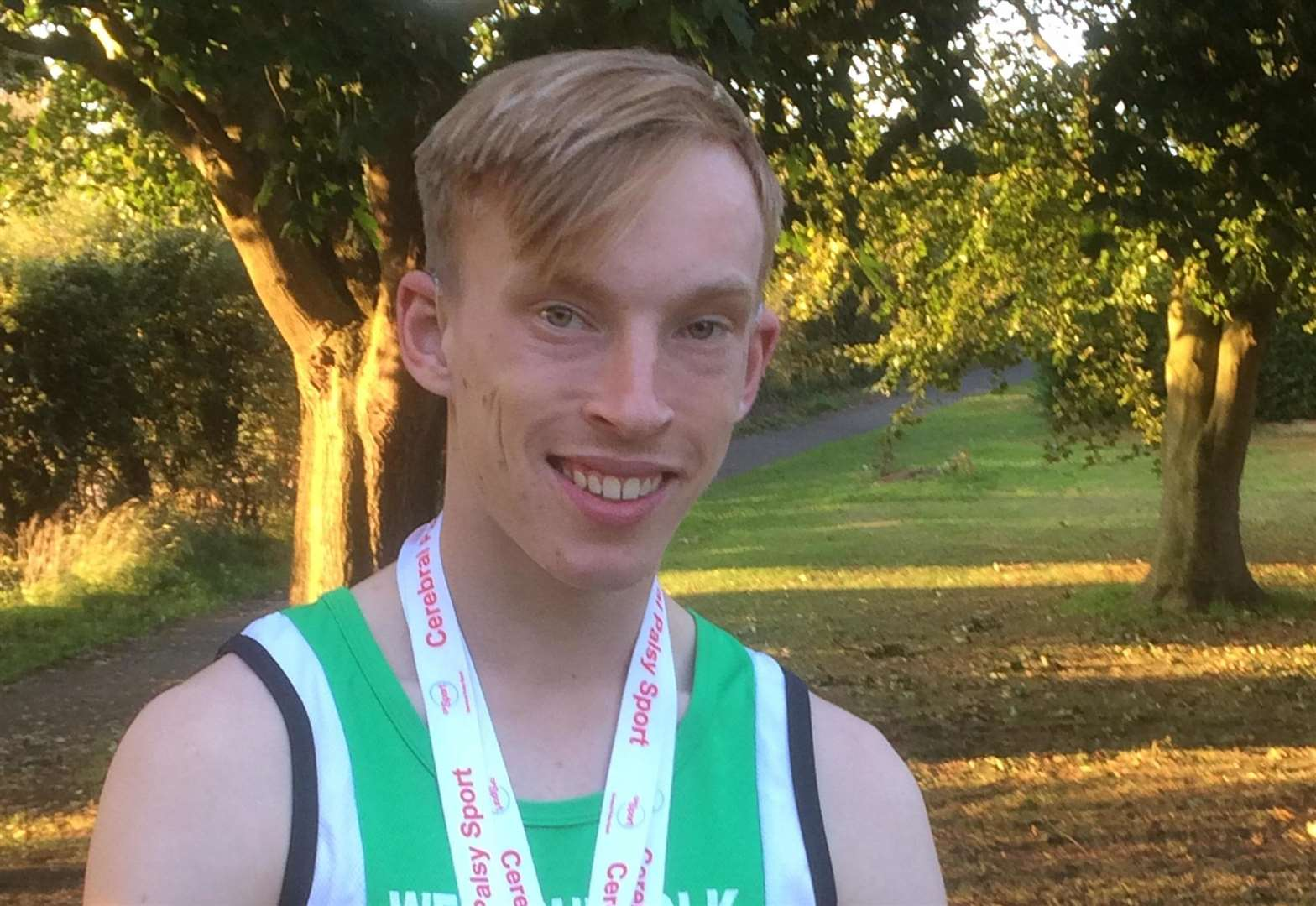 Golden end to season for Bury sprint star Clifford