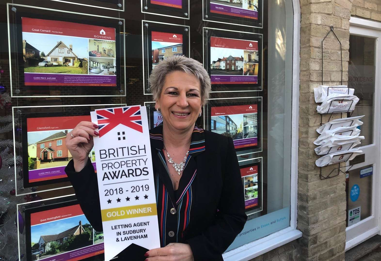 Sudbury agency earns recognition at British Property Awards