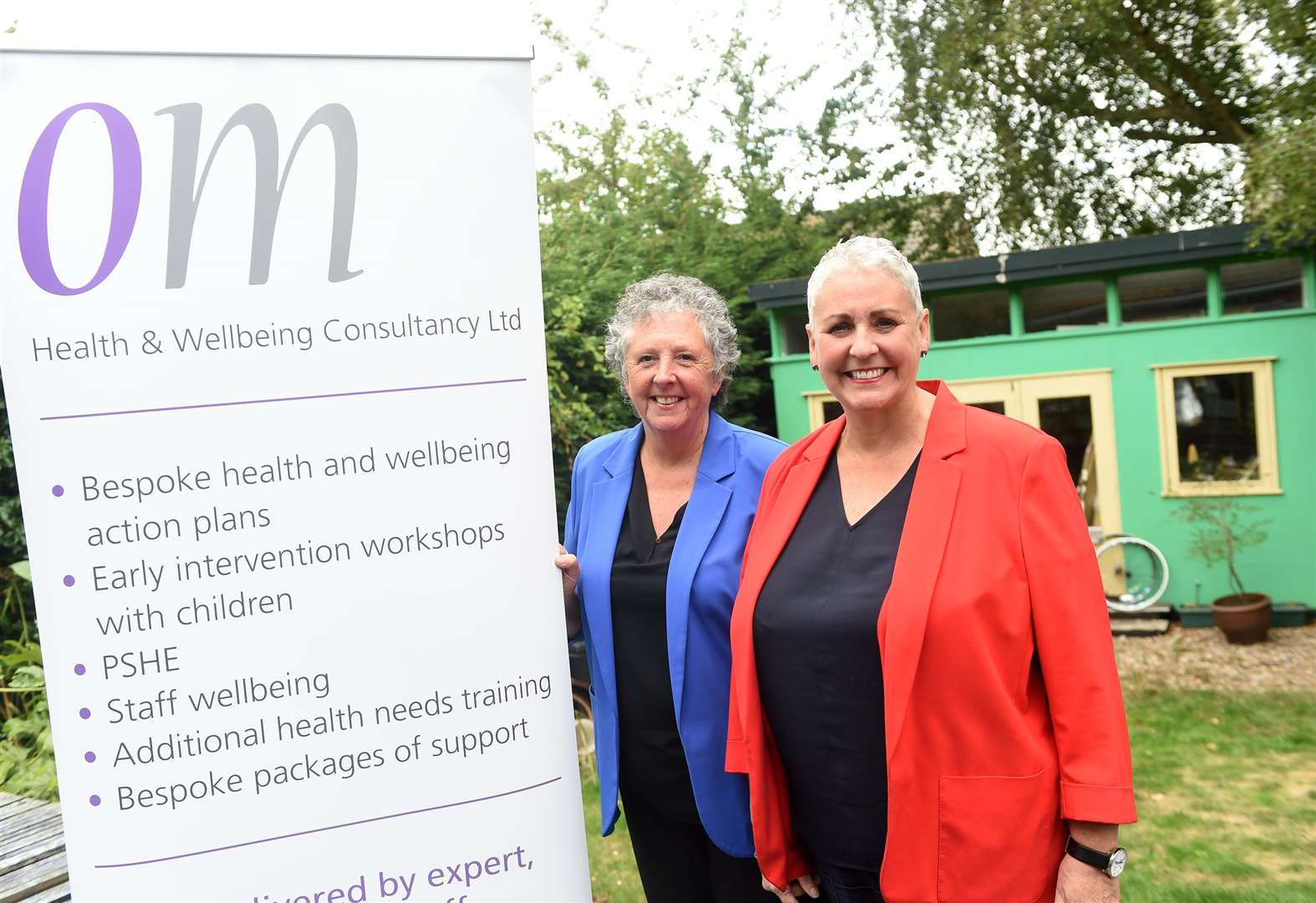Long Melford wellbeing company earns recognition from ex-Dragon's Den star