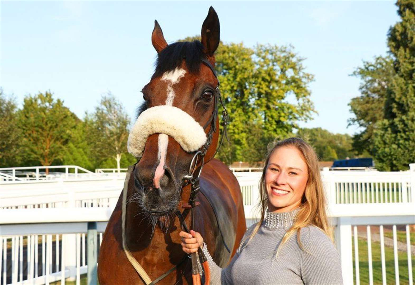Banham to take first success as a trainer all in her stride