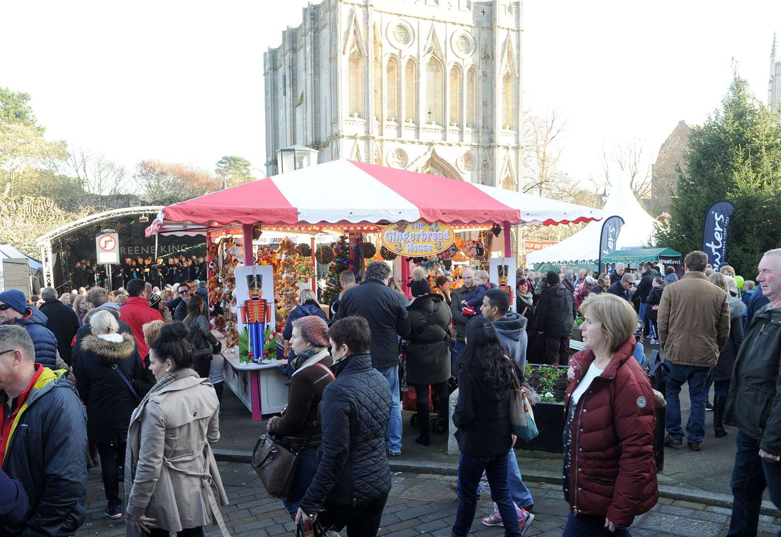 Jingle all the way to this year's Bury St Edmunds Christmas Fayre