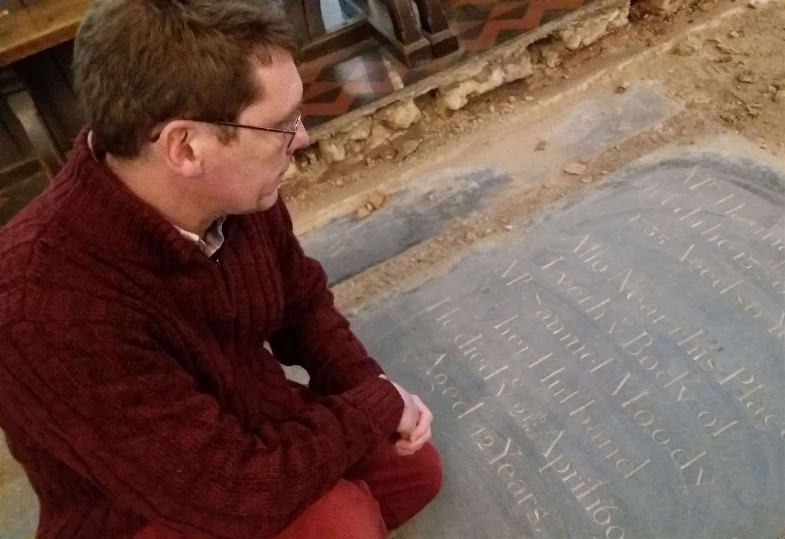Unearthed memorial could be ancestors of Bury tour guide