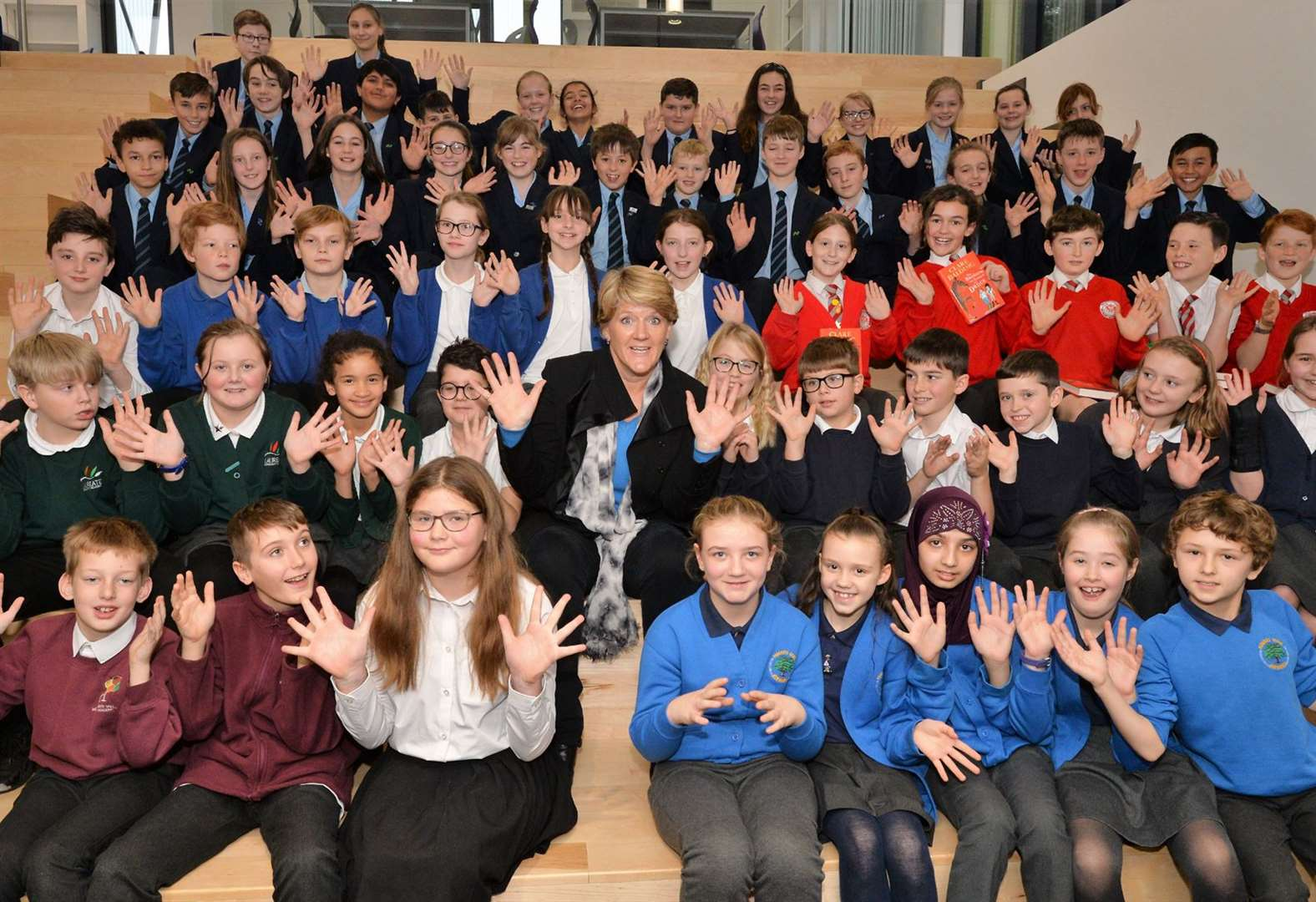 Clare Balding opens Newmarket Academy's state-of-the art new library