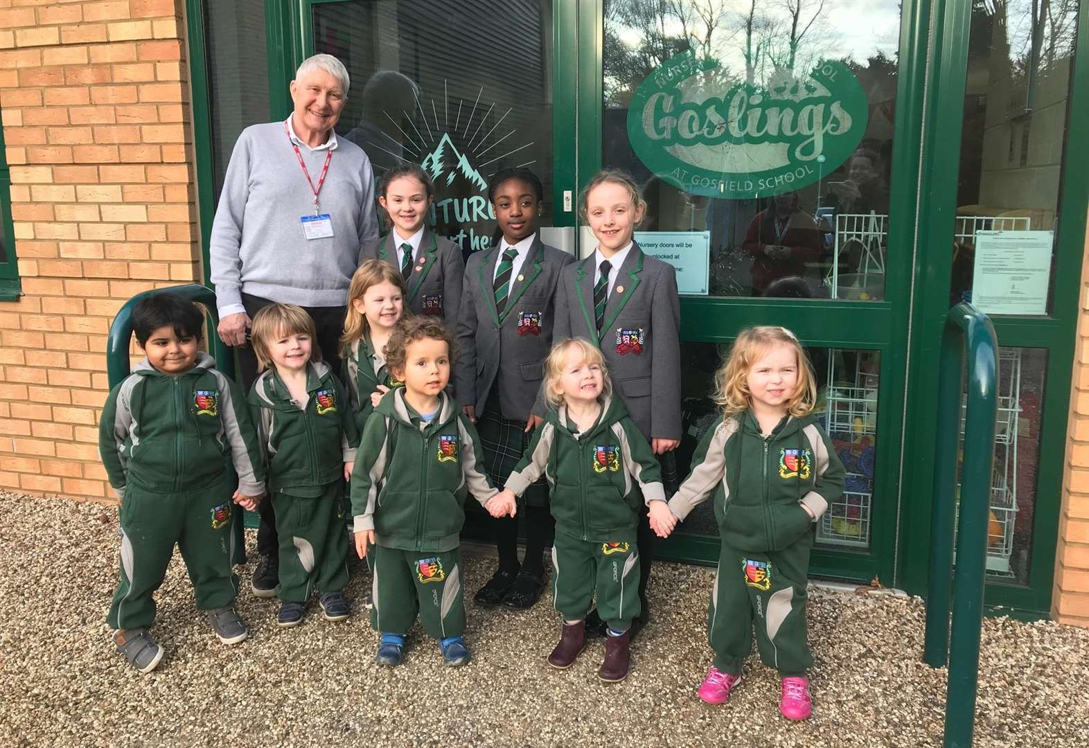 Gosfield School welcomes children's author to mark renaming of nursery