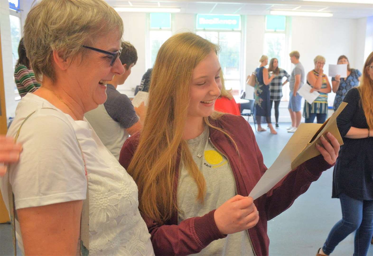 Newmarket and Soham students collect GCSE results