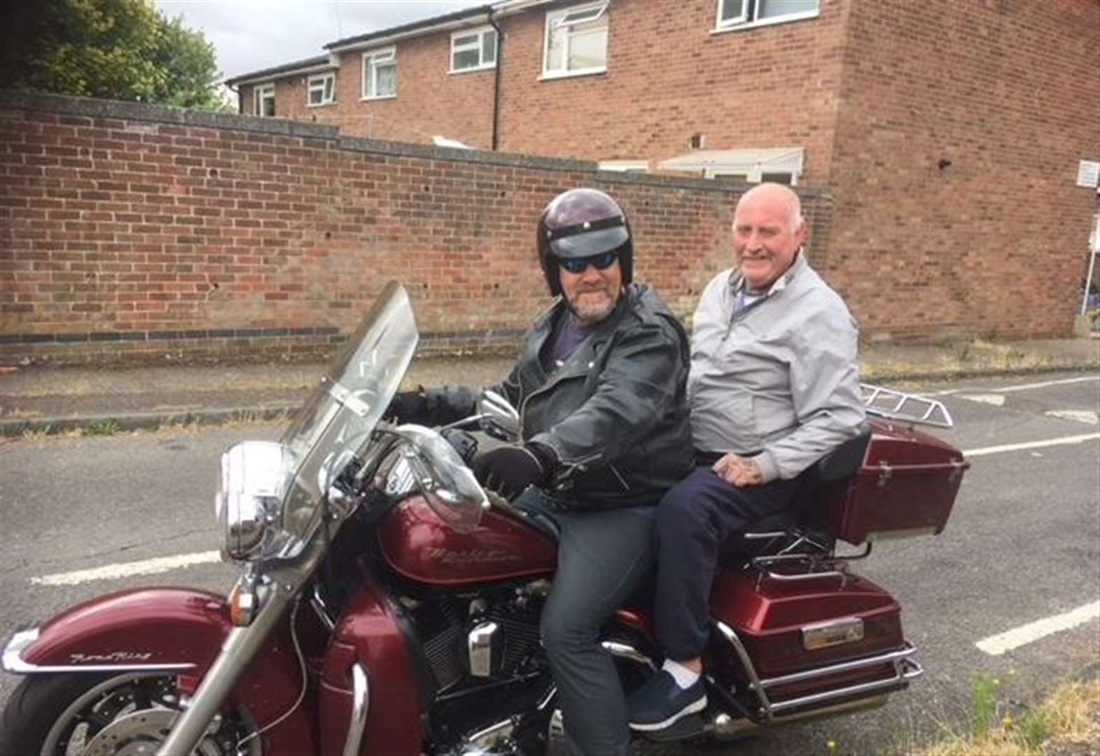 Bury St Edmunds woman thanks Harley rider who gave that 'little extra' to friend