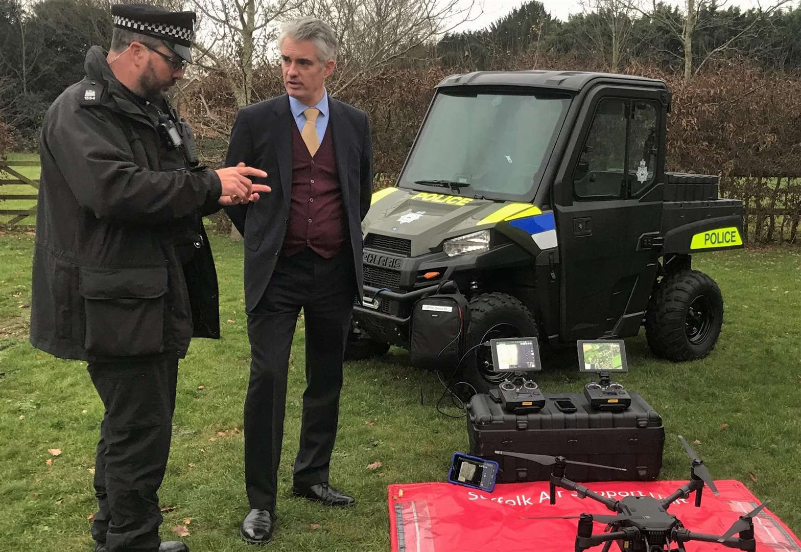 South Suffolk MP hails use of police drones to combat hare coursing
