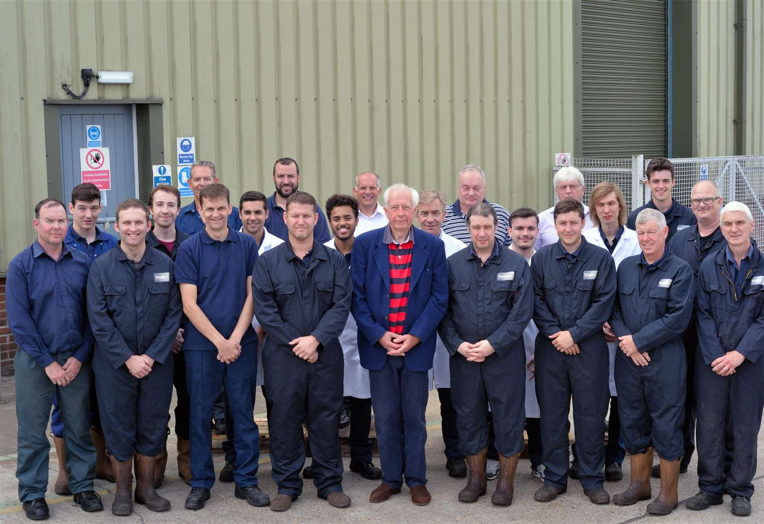 Market-leading chemical producer in Stradishall clocks up its 50th year