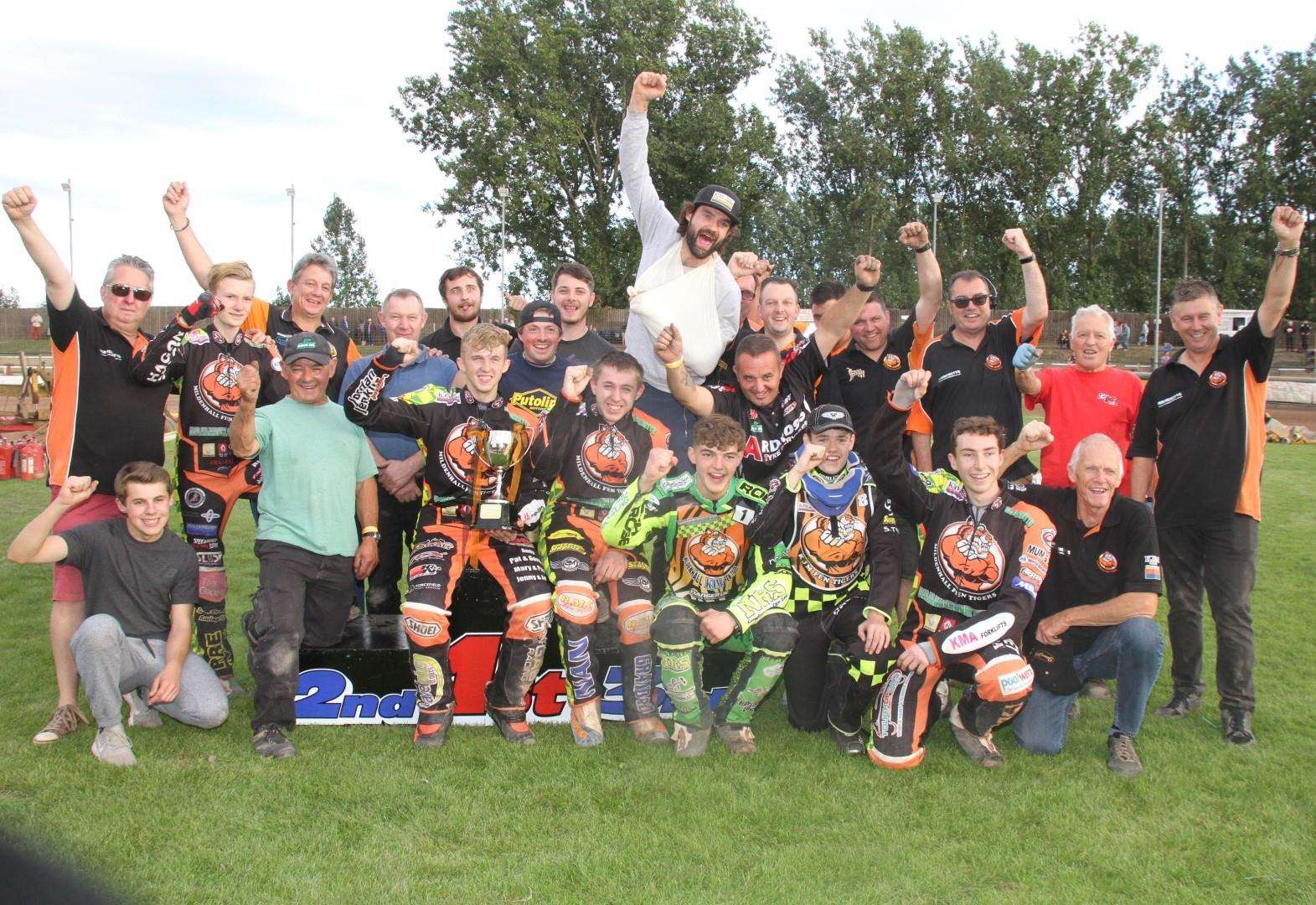 Fen Tigers retain National Trophy