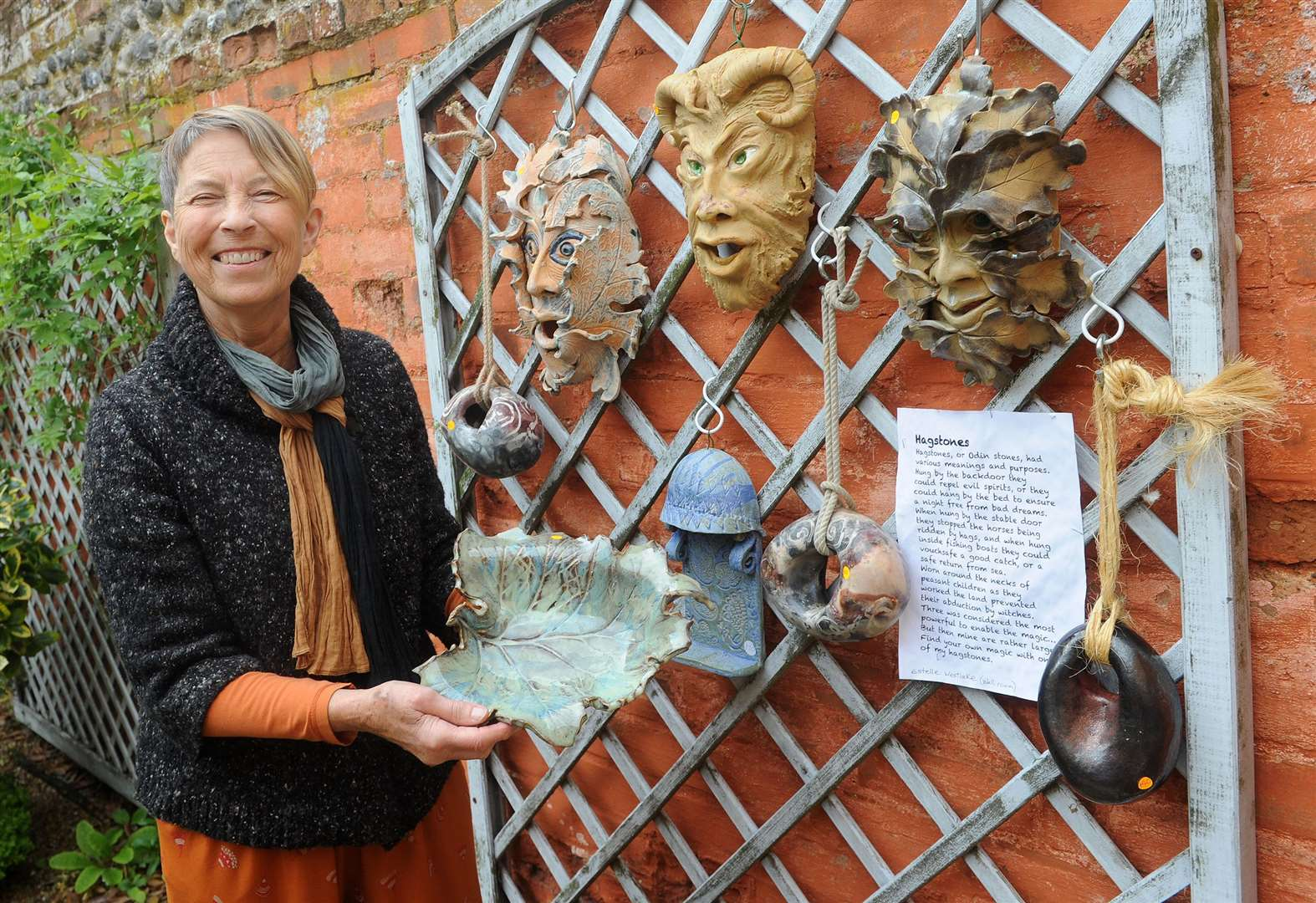 PICTURES: Exhibition showcases artists and crafts makers in Lavenham