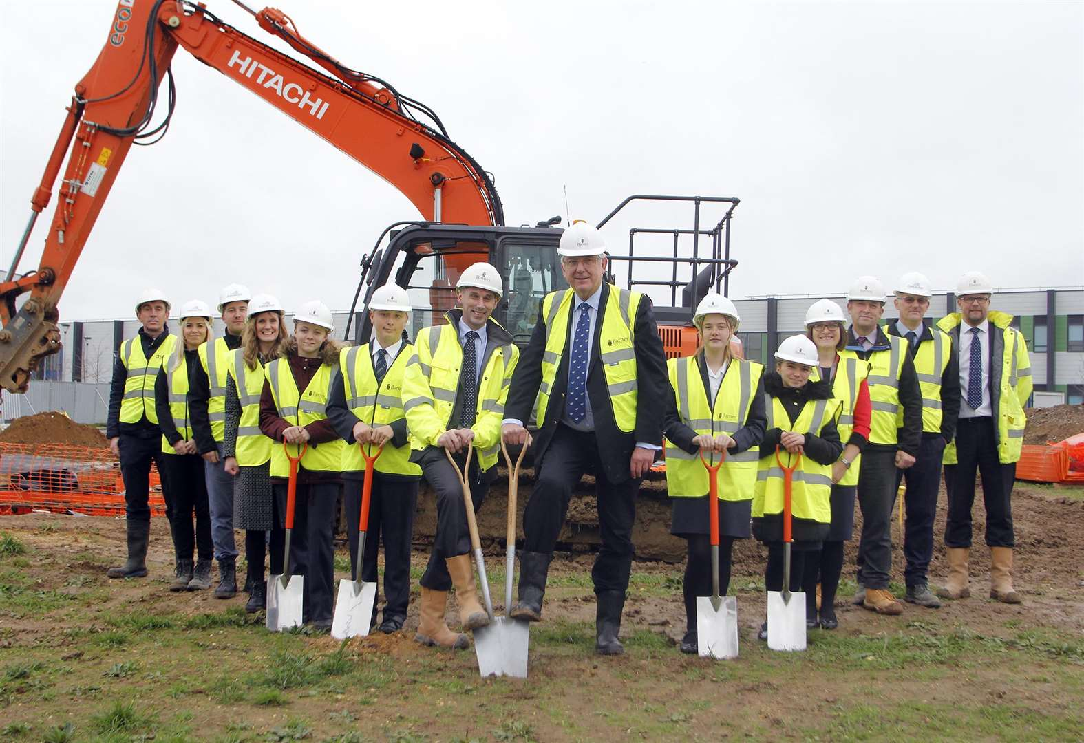 Construction starts on new teaching blocks at Bury St Edmunds school