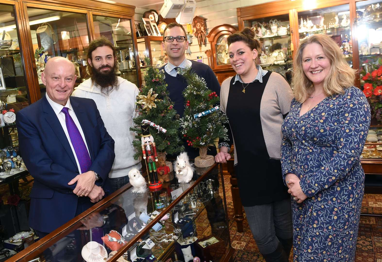 Christmas window display competition launches for businesses in Sudbury